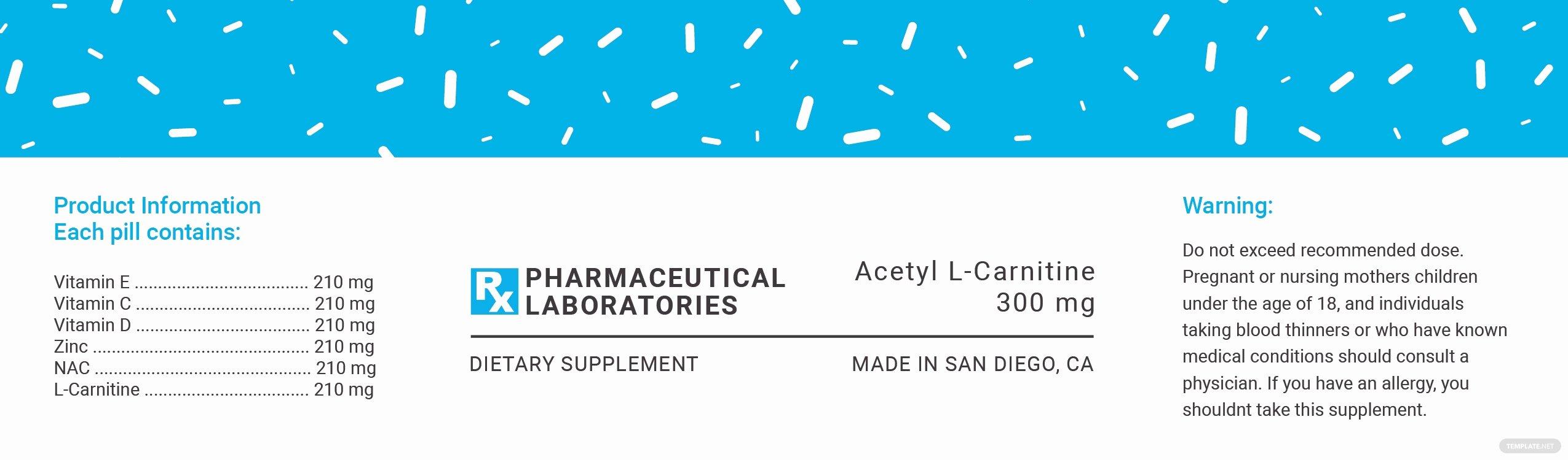 Prescription Pill Bottle Label Template Awesome Free Pill Bottle Label Template In Psd Ms Word Publisher