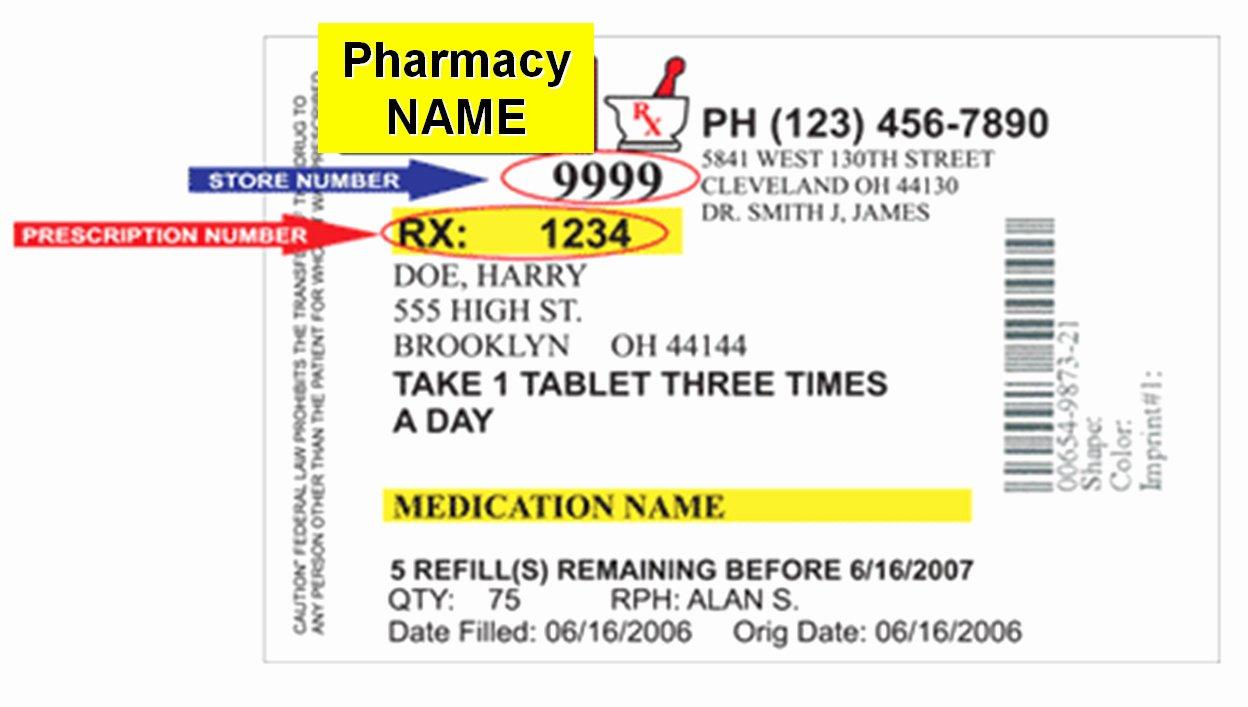 Prescription Pill Bottle Label Template Elegant Prescription Bottle Label Template