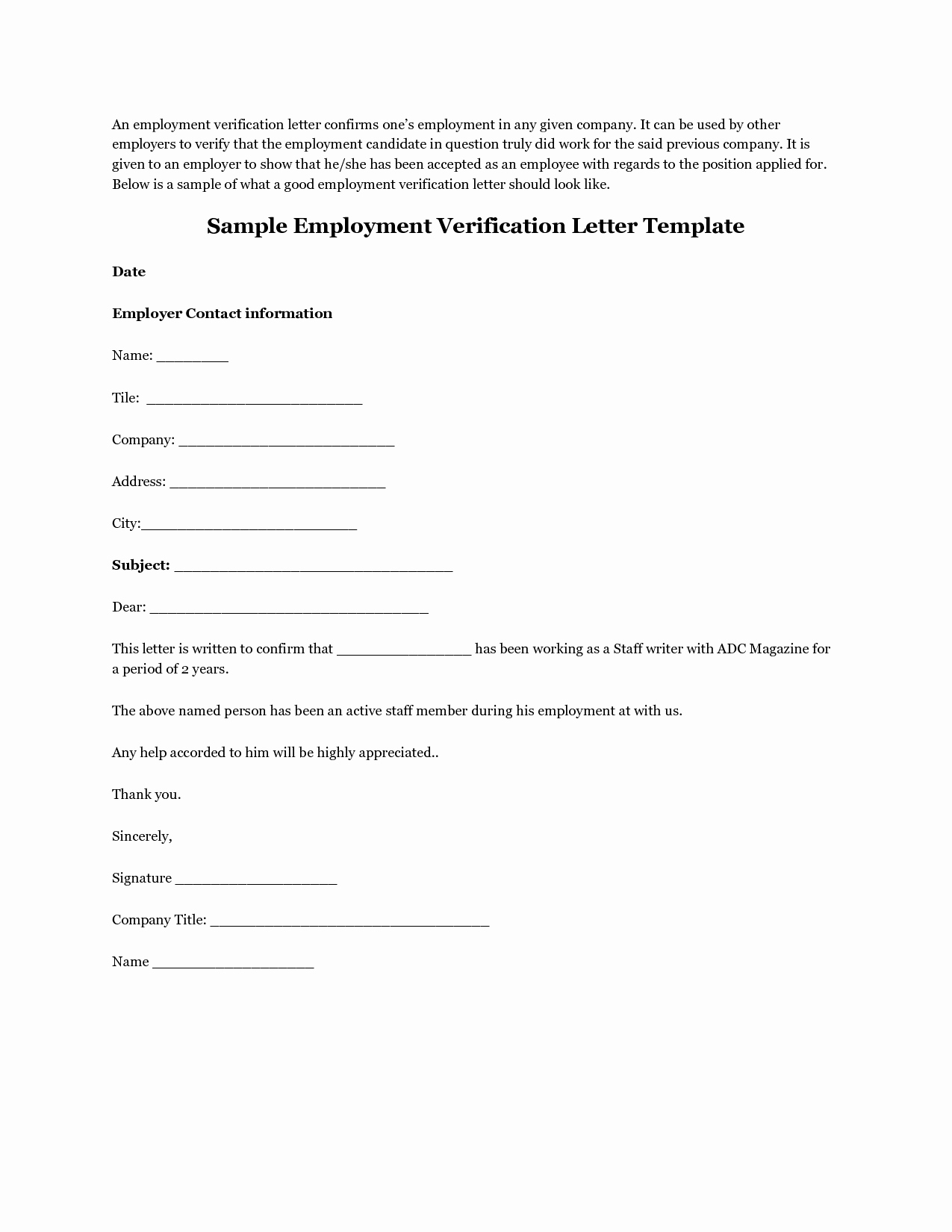Previous Employment Verification form Template Luxury Employment Verification Letter Template Bbq Grill Recipes