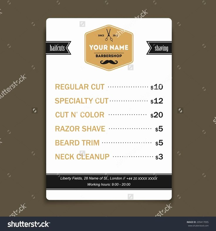 Price List Design Template Beautiful 1000 Images About Price List Design On Pinterest