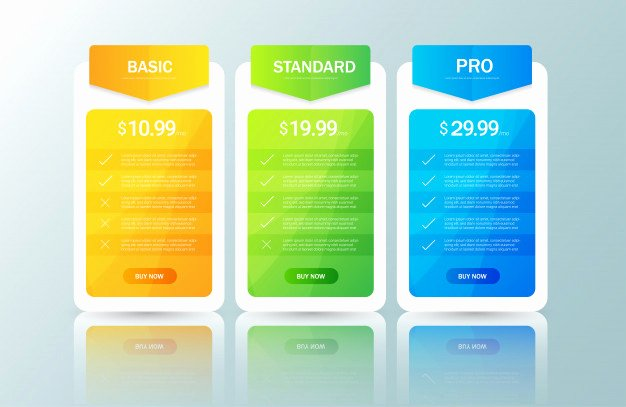 Price List Design Template New Price List Design Template Vector