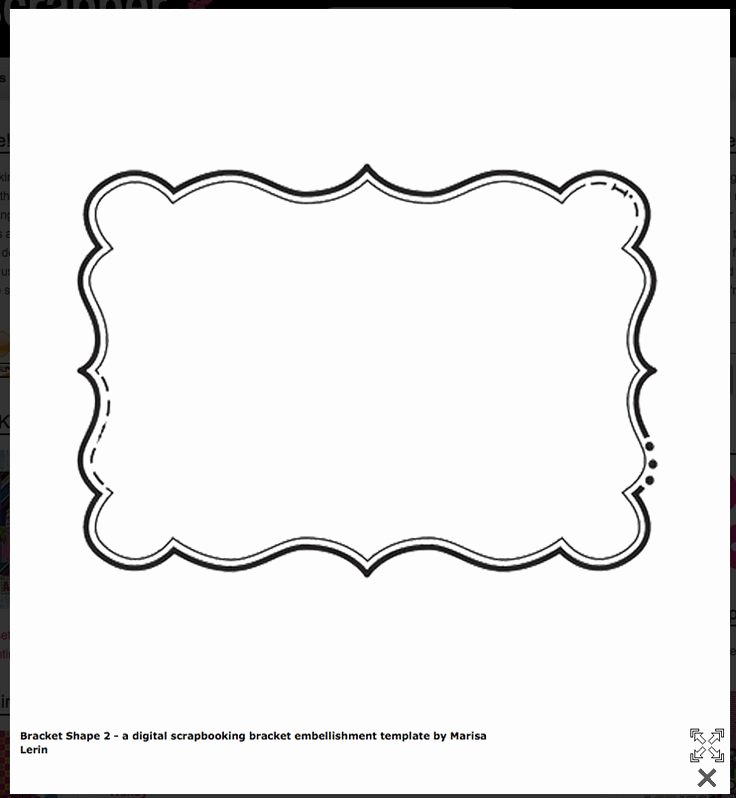 Price Tag Template Word Awesome Bracket Shape Free Templates Cards & Envelopes