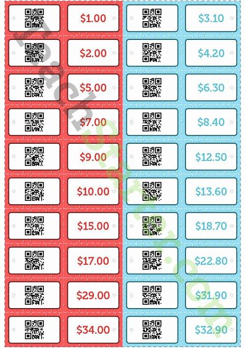 Price Tag Template Word Elegant Qr Code Price Tags Teaching Resource – Teach Starter