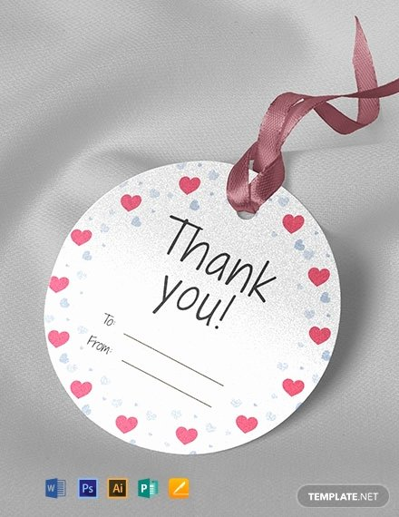 Price Tag Template Word Lovely Free Round Thank You Tag Template Download 50 Tags In