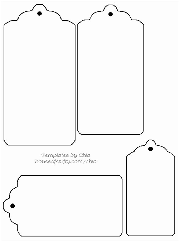 Price Tag Template Word New 14 Free Tag Templates – Free Sample Example format