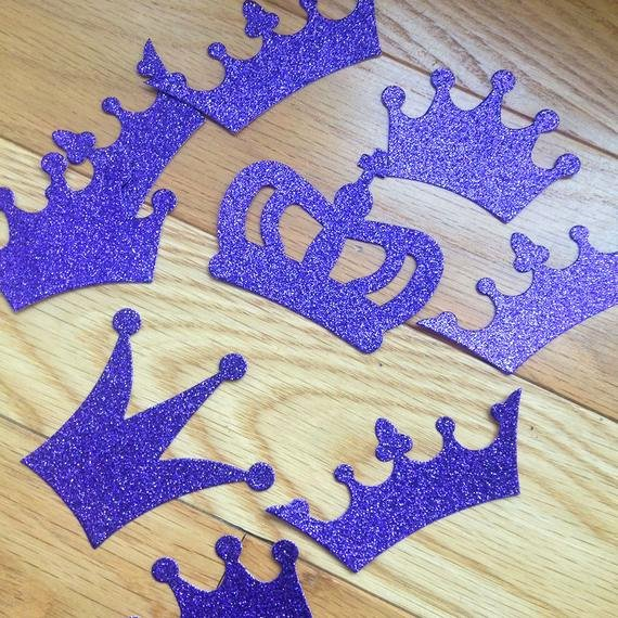 Prince Crown Cut Out Awesome Crown Glitter Cut Out Die Cut Princess Prince for