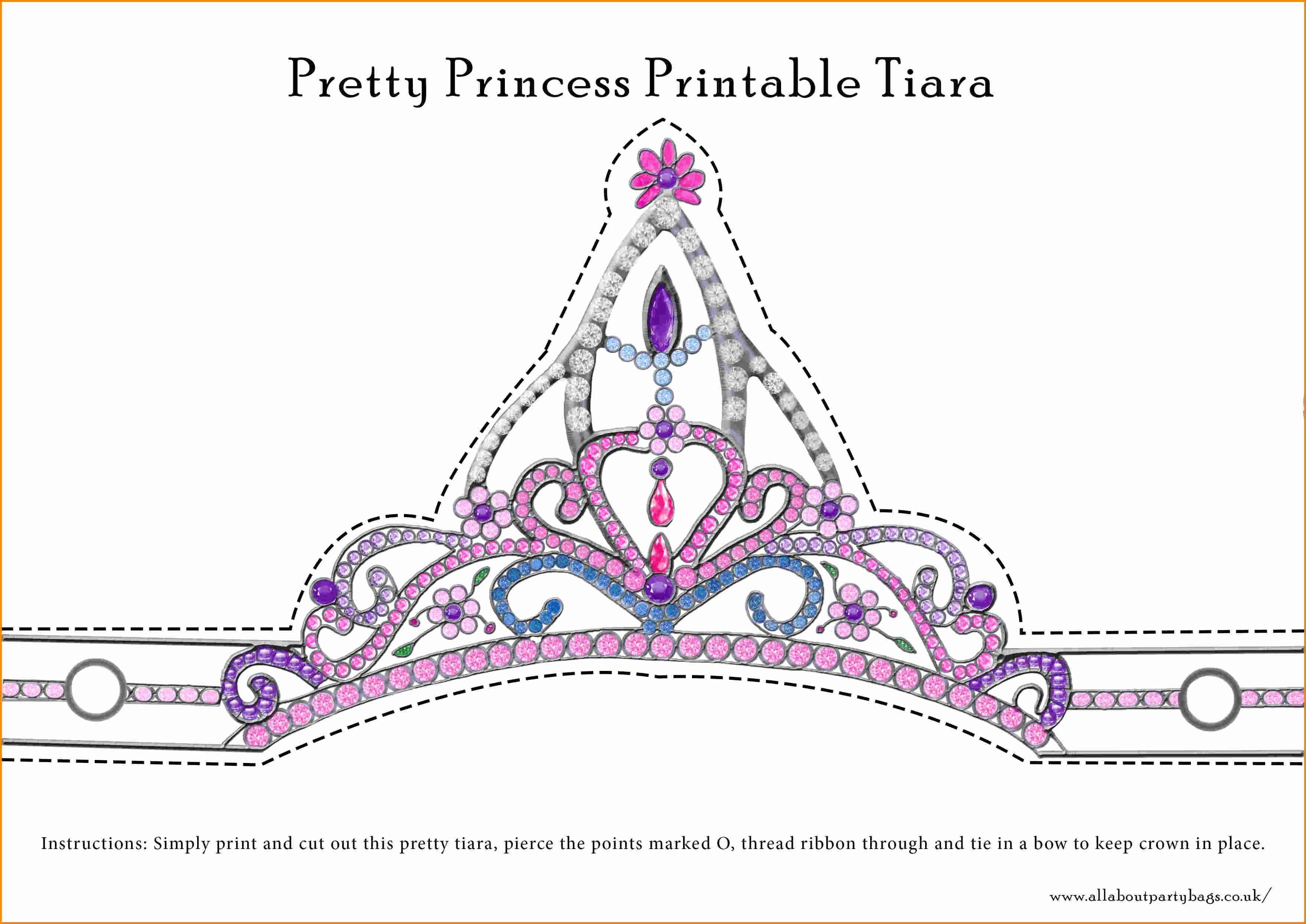 Prince Crown Cut Out Beautiful Crown Drawing Template at Getdrawings