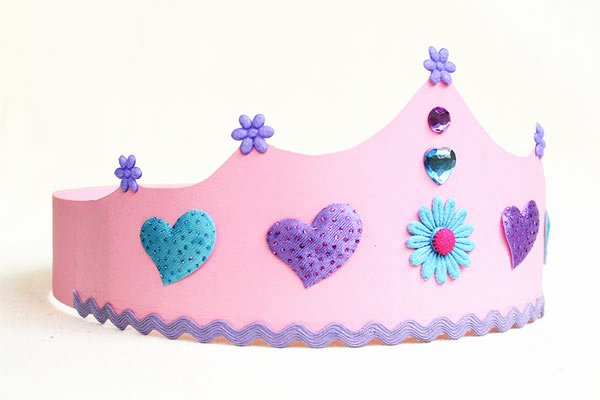 Prince Crown Cut Out Beautiful Prince and Princess Crown Templates