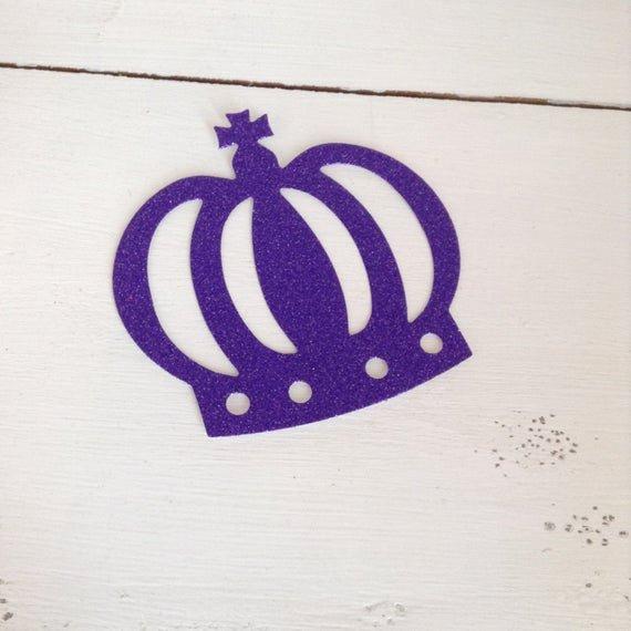 Prince Crown Cut Out Fresh Crown Glitter Cut Out Prince Princess Cut Glitter