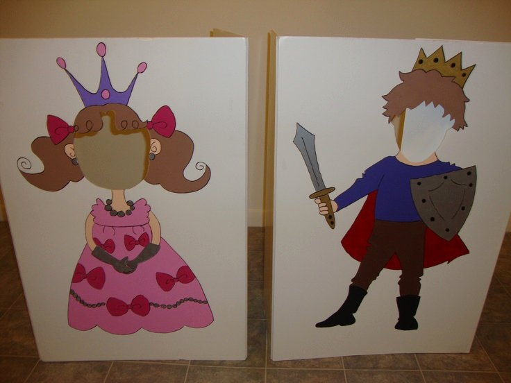Prince Crown Cut Out Inspirational Prince & Princess Cut Out Boards Cute for Taking Pictures