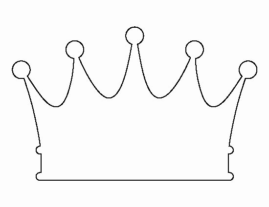 Prince Crown Cut Out New Best 25 Crown Template Ideas On Pinterest