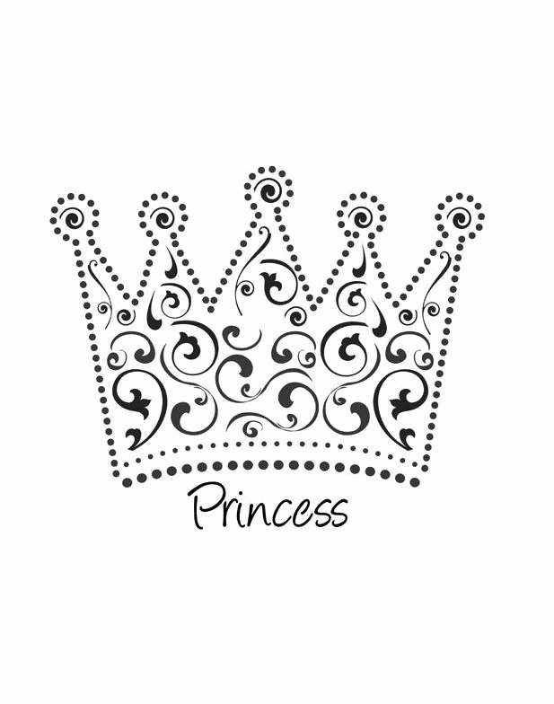 Princess Crown Cut Out Awesome 45 Free Paper Crown Templates Free Template Downloads