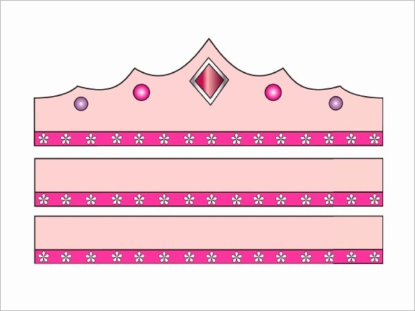 Princess Crown Cut Out Elegant Crown Template 11 Download Documents In Pdf
