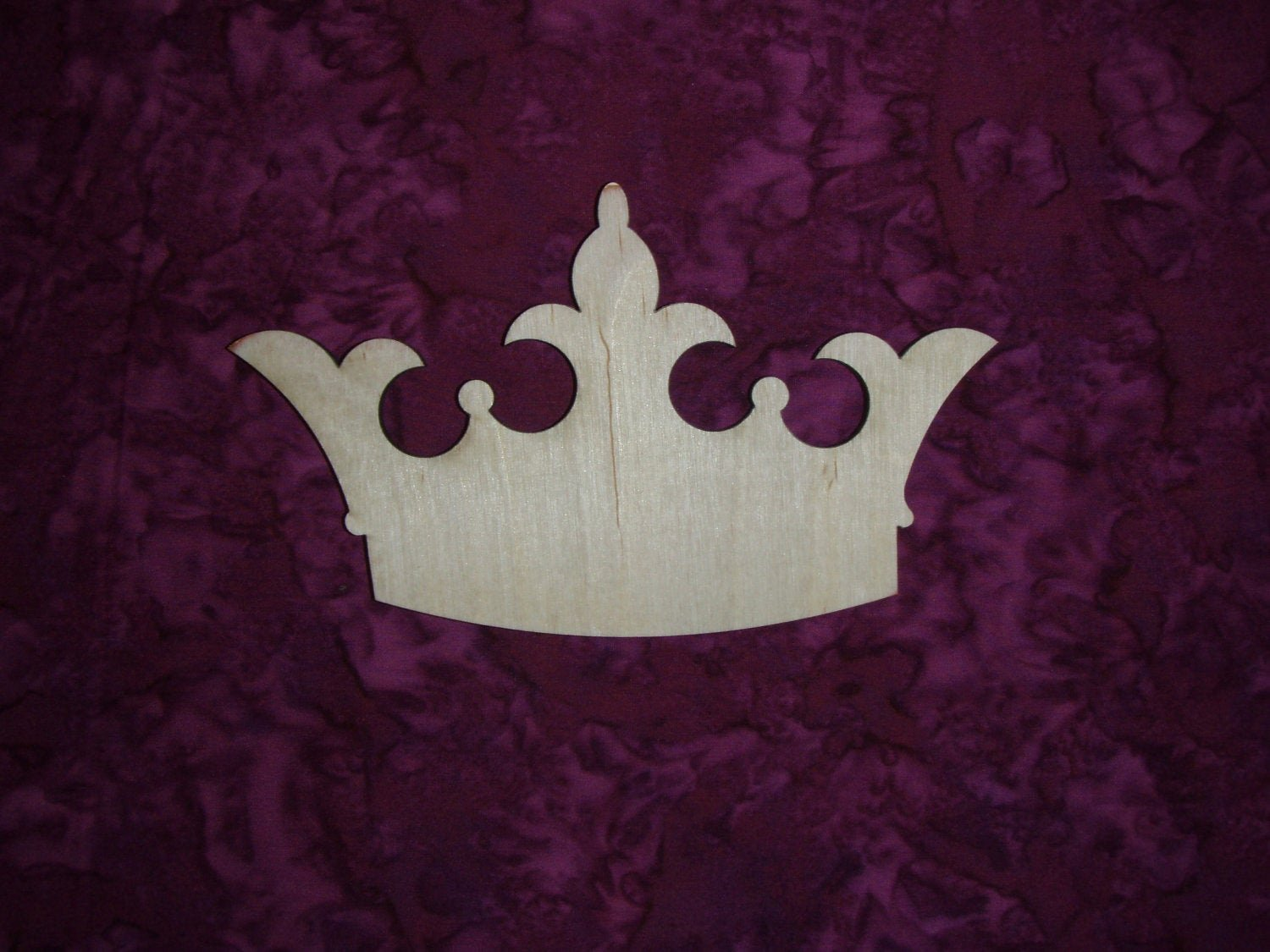 Princess Crown Cut Out Elegant Princess Crown Unfinished Wood Cut Out by Artisticcraftsupply