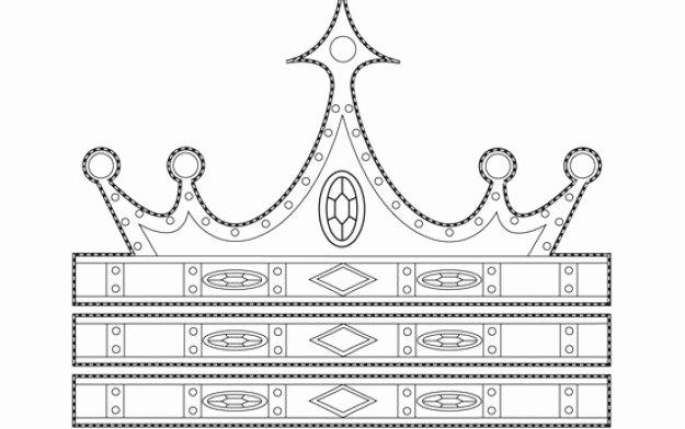 Princess Crown Cut Out Fresh Princess Party Crafts Goodtoknow