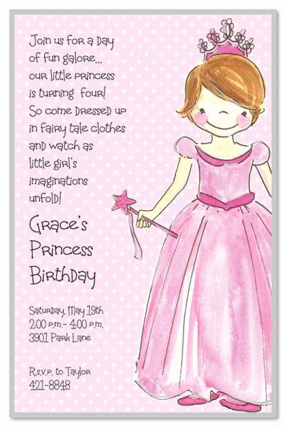 Princess Party Invitation Wording Elegant Cinderella Tea Party Invitation Ideas