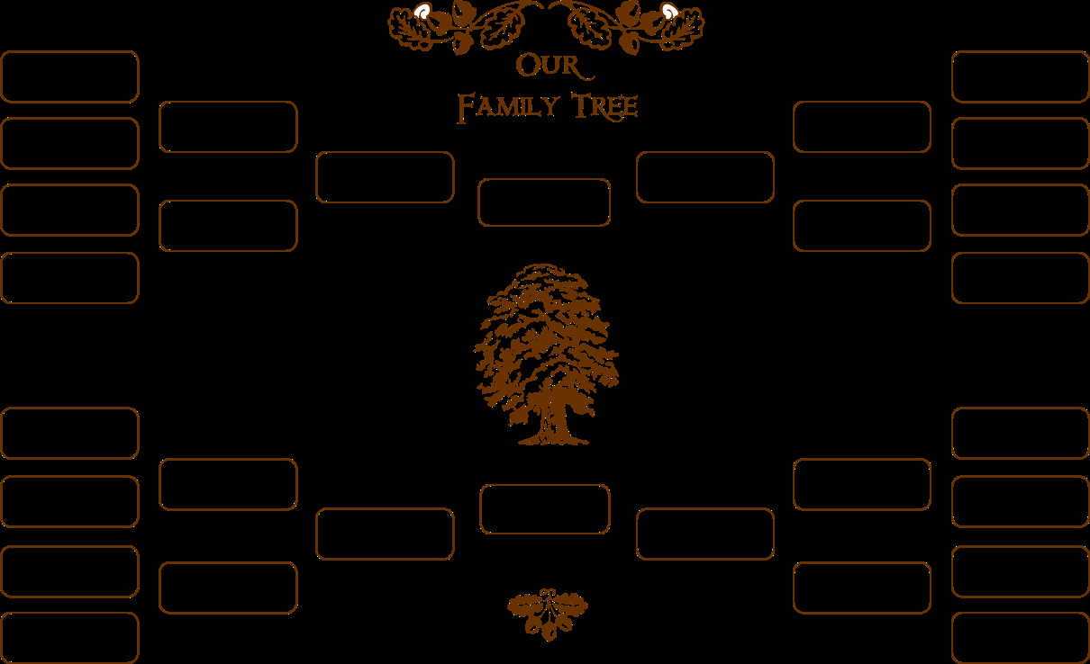 Print Family Tree Chart Elegant Blank Family Tree Template