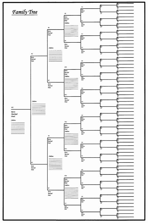 Print Family Tree Chart Luxury 22 Best Geneology Images On Pinterest