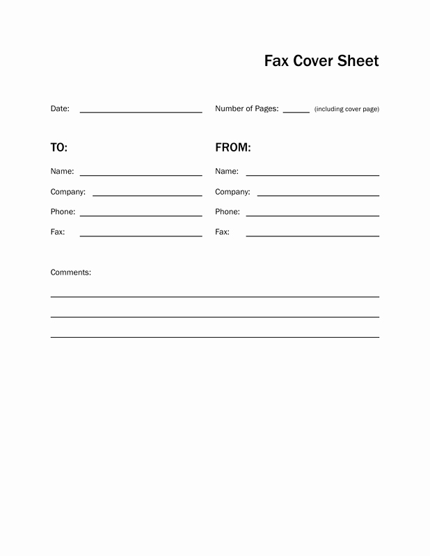 Print Fax Cover Sheet Elegant 13 Free Fax Cover Sheet Templates Professional Designs