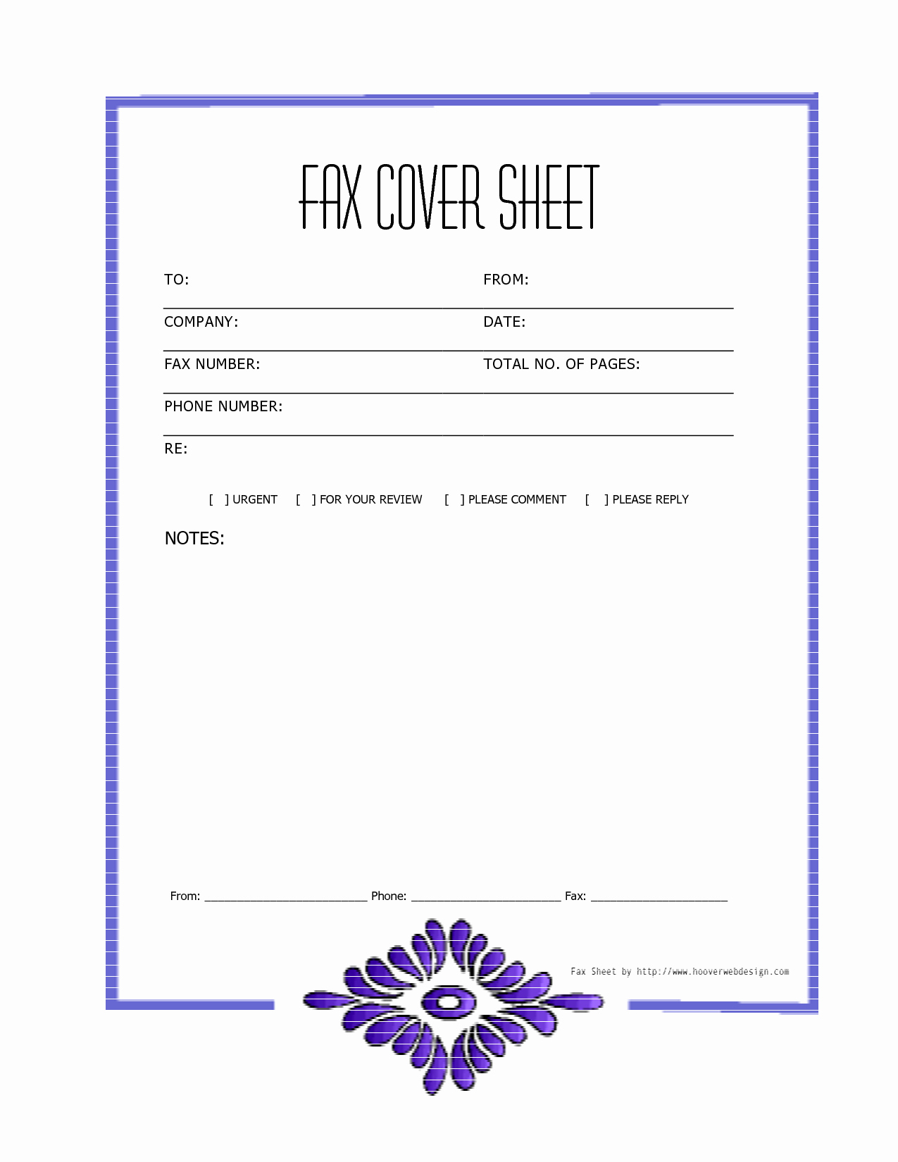 Print Fax Cover Sheet Elegant Free Downloads Fax Covers Sheets