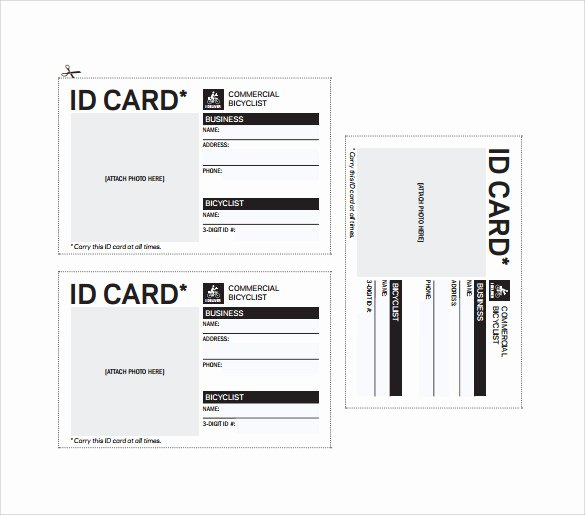 Print Id Cards Online Free Best Of Id Card Template 19 Download In Psd Pdf Word