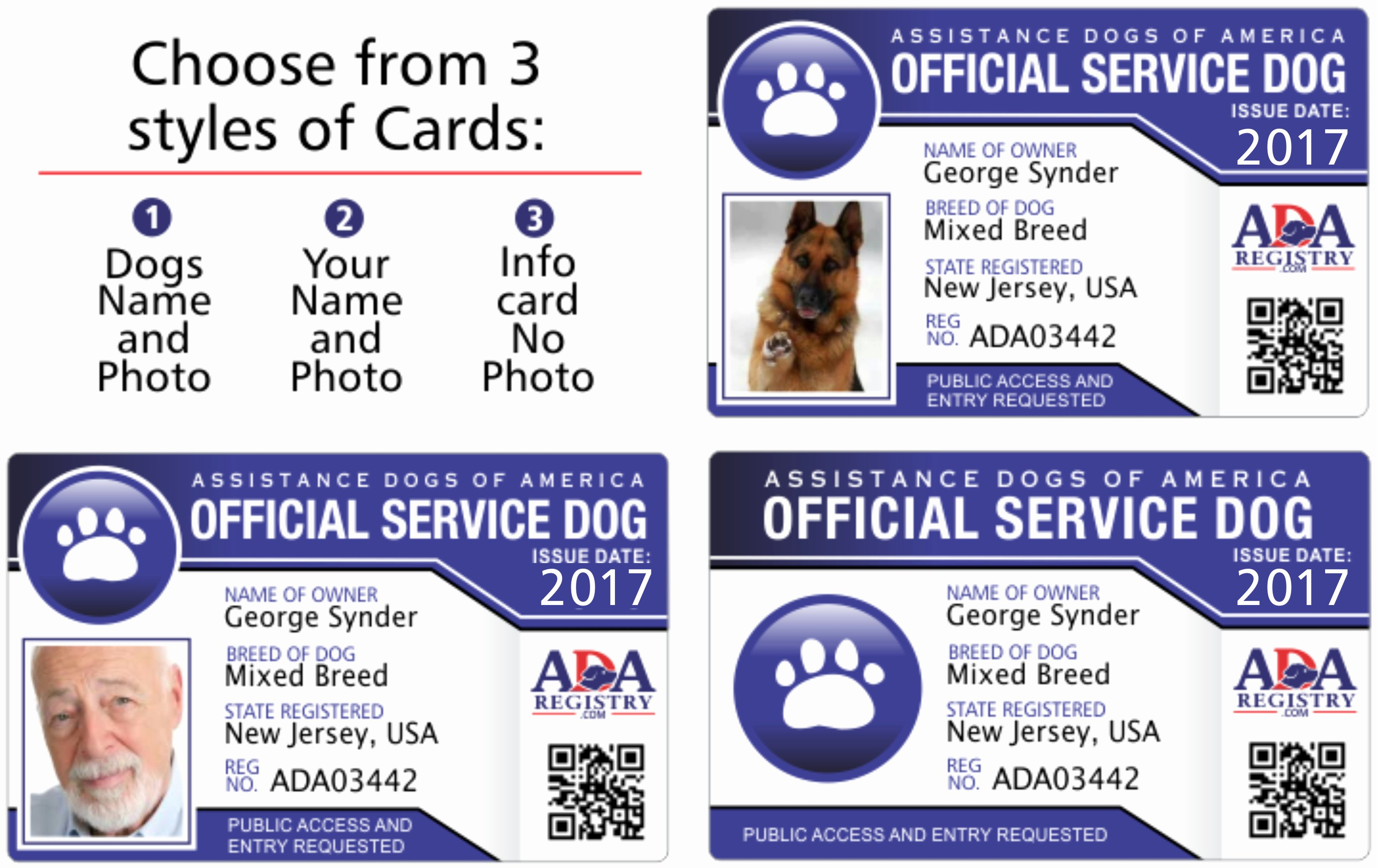 Print Id Cards Online Free Fresh Service Dog Id Card Gallery Service Dog Registry
