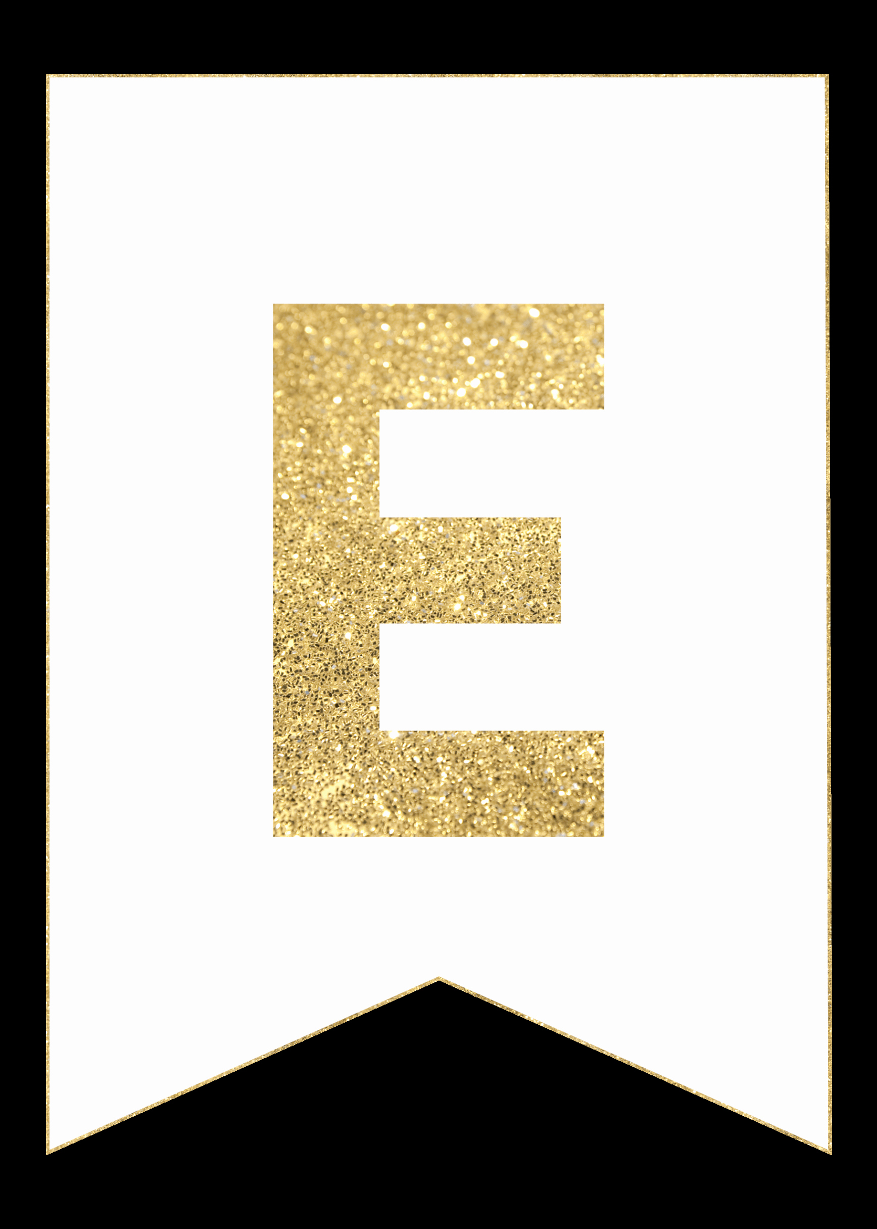 Printable Alphabet Letters Free New Gold Free Printable Banner Letters Paper Trail Design