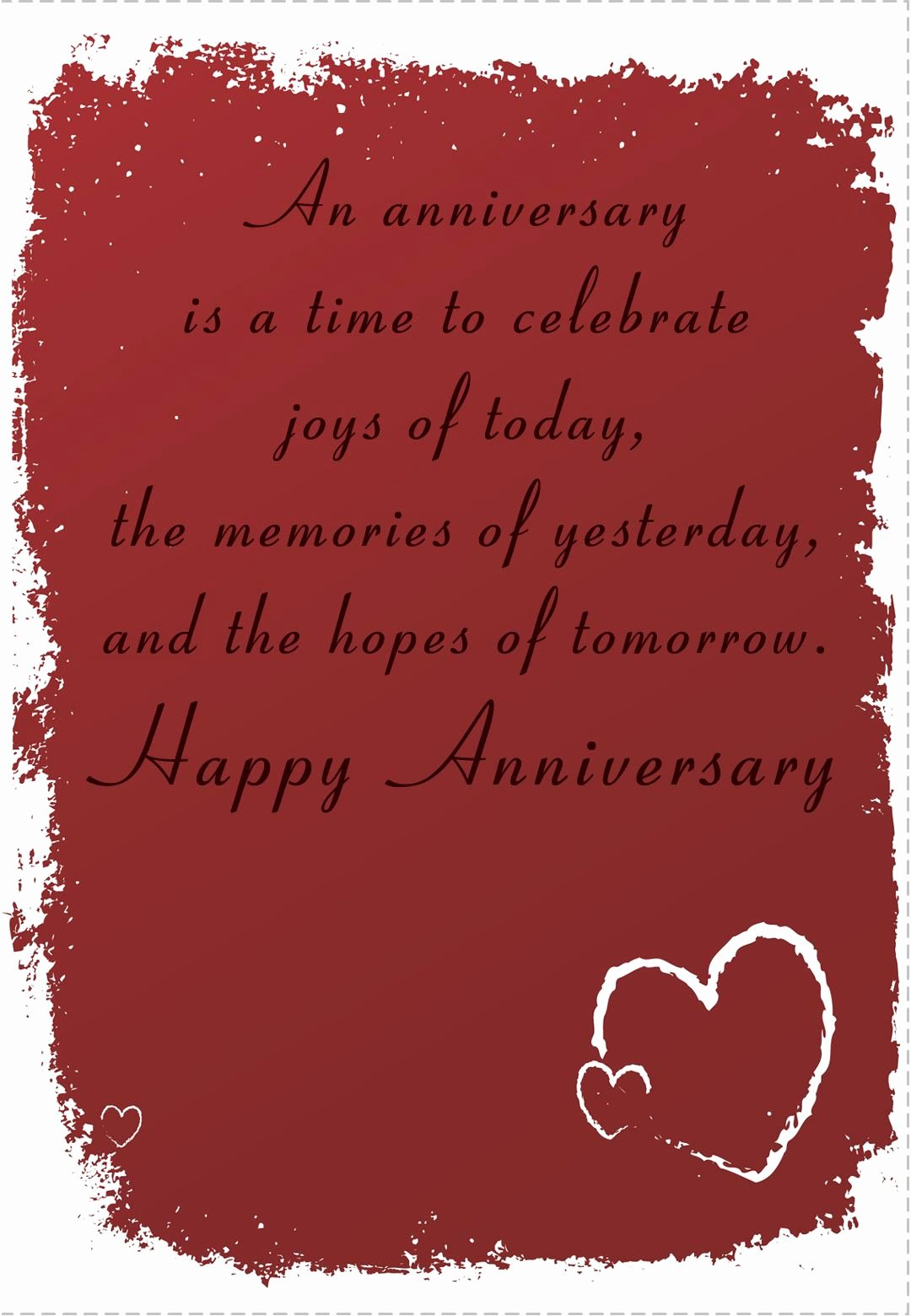 Printable Anniversary Cards Free Beautiful Free Printable Time to Celebrate Anniversary Greeting