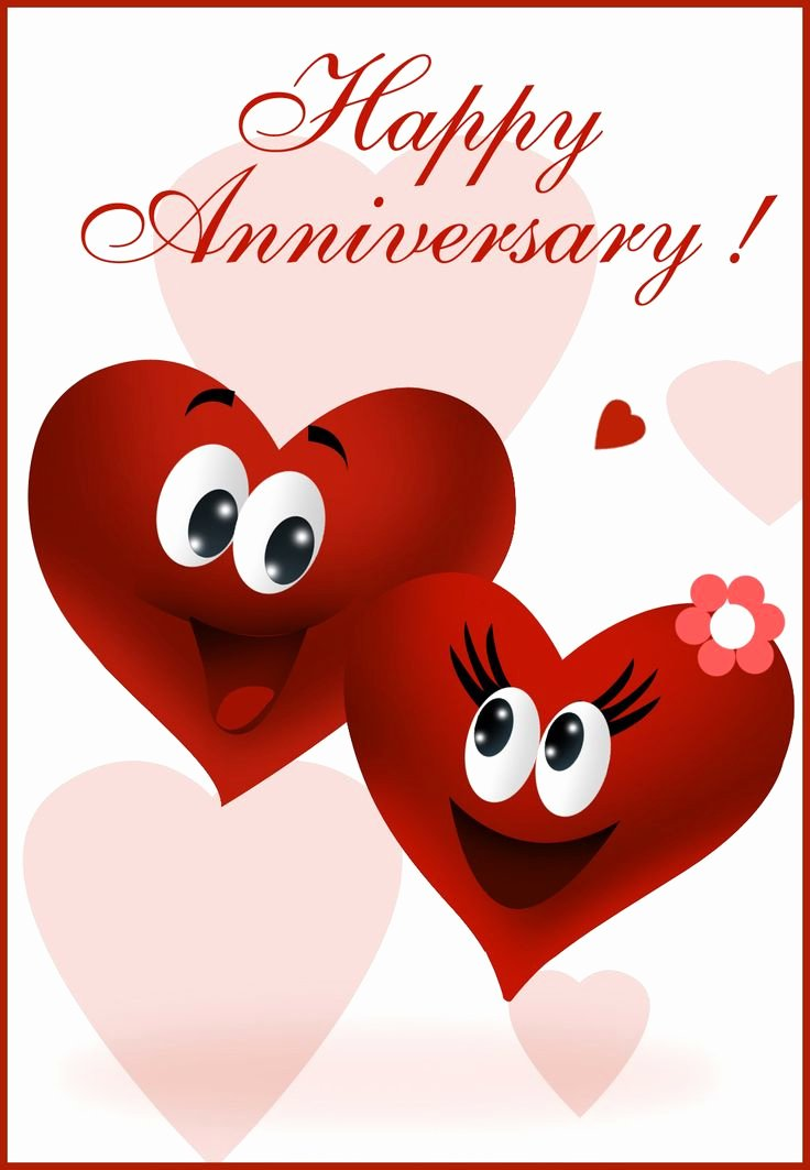 Printable Anniversary Cards Free Best Of Free Printable Happy Anniversary Greeting Card