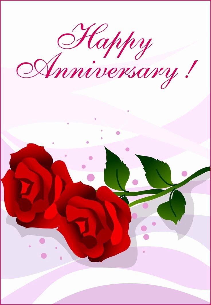 Printable Anniversary Cards Free Elegant Free Printable Happy Anniversary Greeting Card