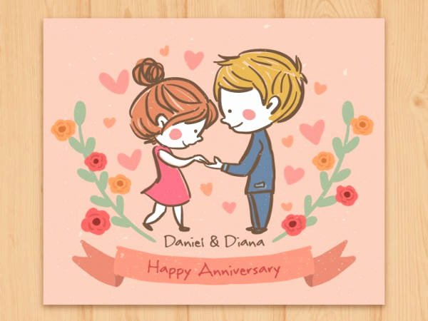 Printable Anniversary Cards Free New 9 Free Anniversary Cards