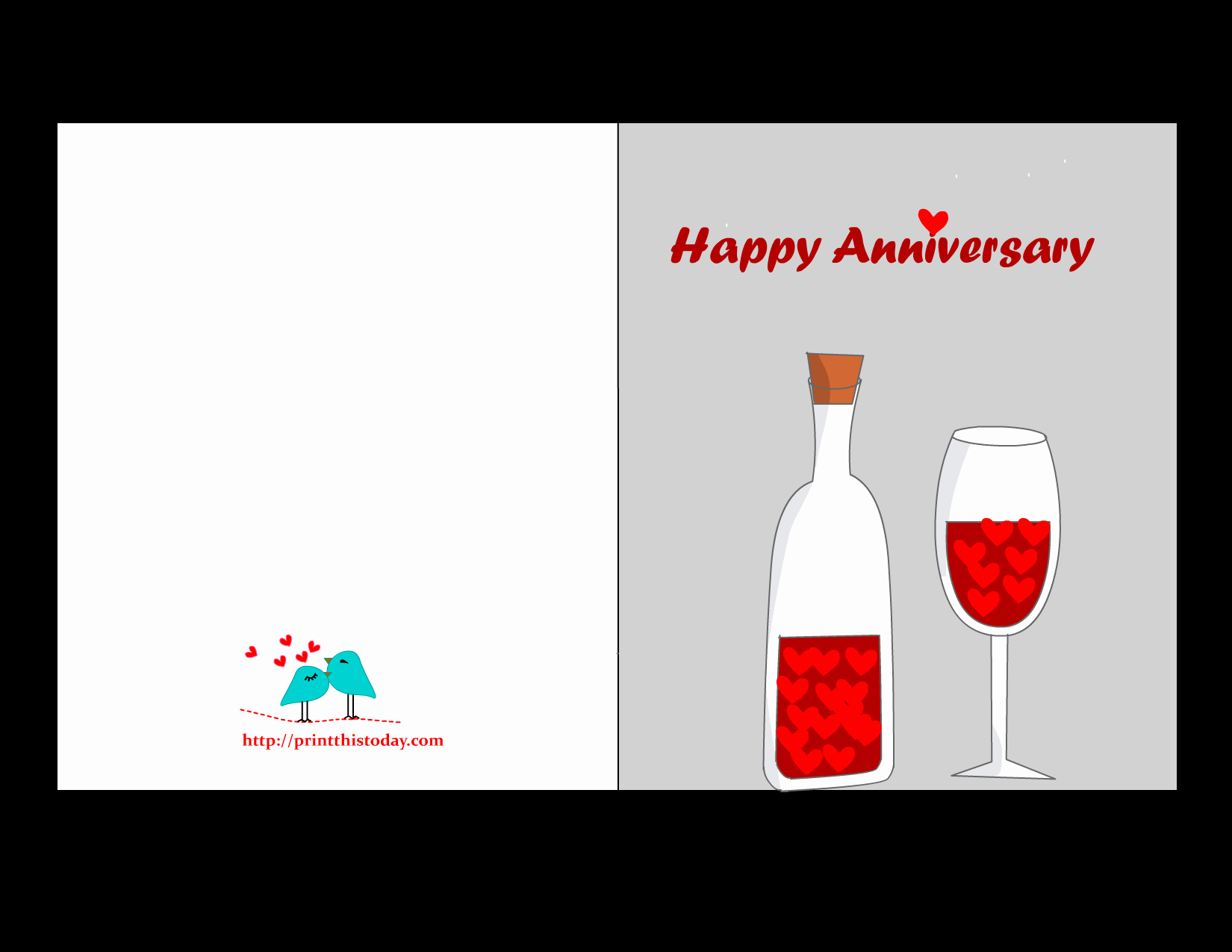 Printable Anniversary Cards Free Online Best Of Free Printable Anniversary Cards
