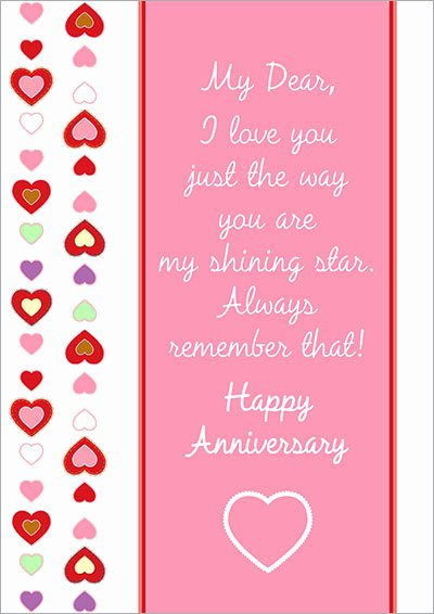 Printable Anniversary Cards Free Online Fresh Free Printable Anniversary Cards