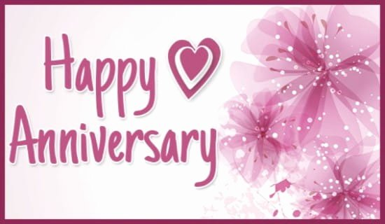 Printable Anniversary Cards Free Online Inspirational Happy Anniversary Ecard Free Anniversary Greeting Cards