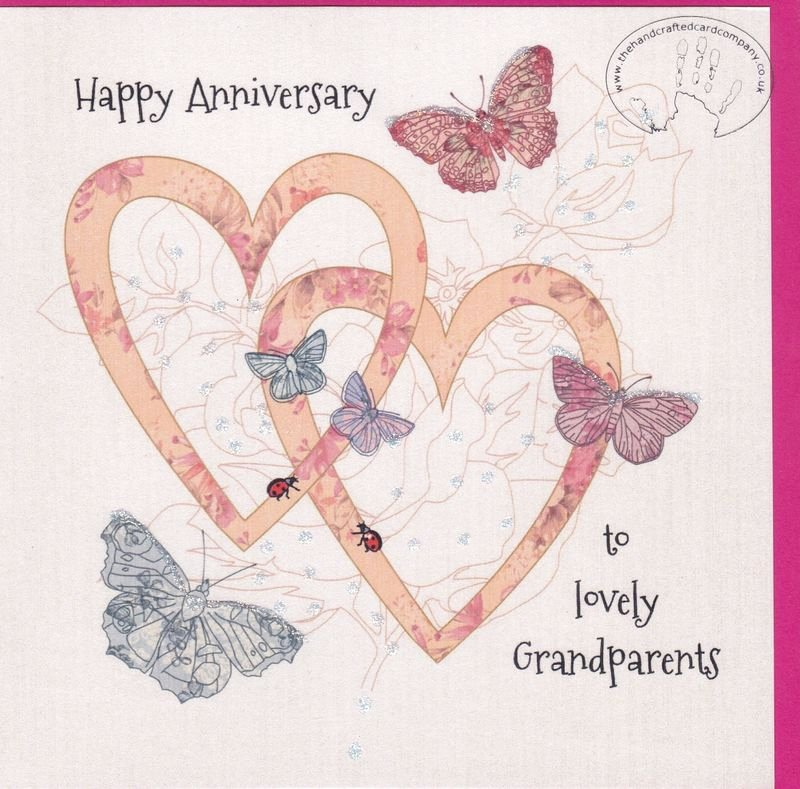 Printable Anniversary Cards Free Online Luxury Handmade Grandparents Wedding Anniversary Card Karenza