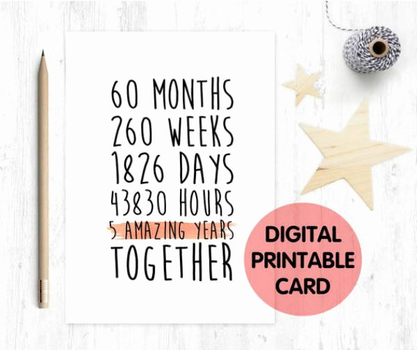 Printable Anniversary Cards Free Online Unique 14 Printable Anniversary Card Designs & Templates Psd