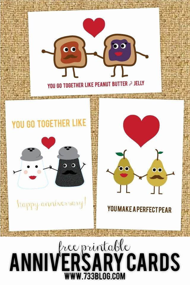 Printable Anniversary Cards Free Unique Free Printable Anniversary Cards Free Printables