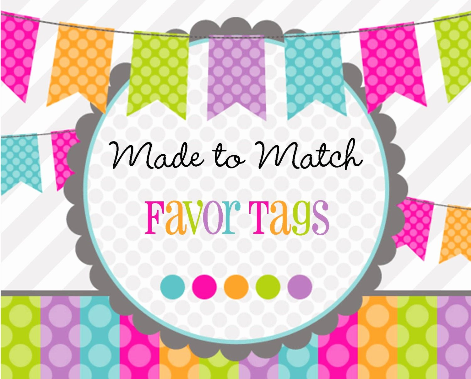 Printable Baby Shower Favor Tags Unique Made 2 Match Printable Favor Tags Birthday Baby Shower