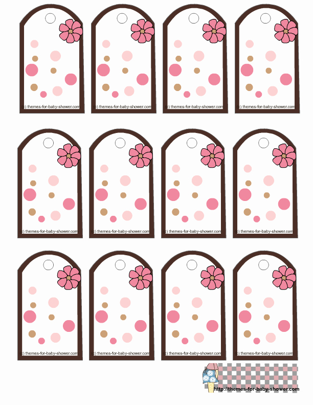 Printable Baby Shower Gift Tags Best Of Girl Baby Shower Free Printable Mini Kit