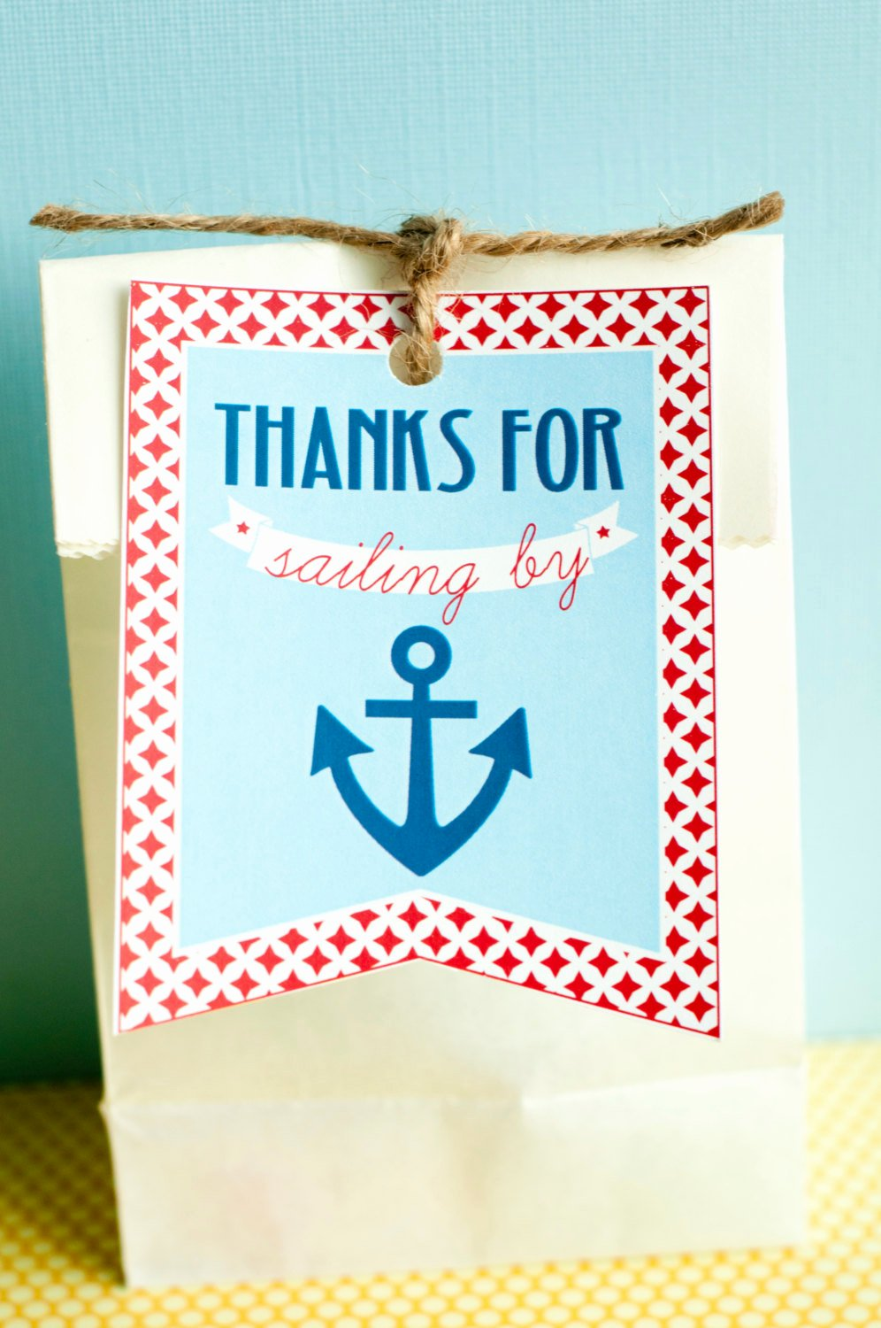Printable Baby Shower Tags Awesome Nautical Baby Shower Printable Favor Tags Instant Download