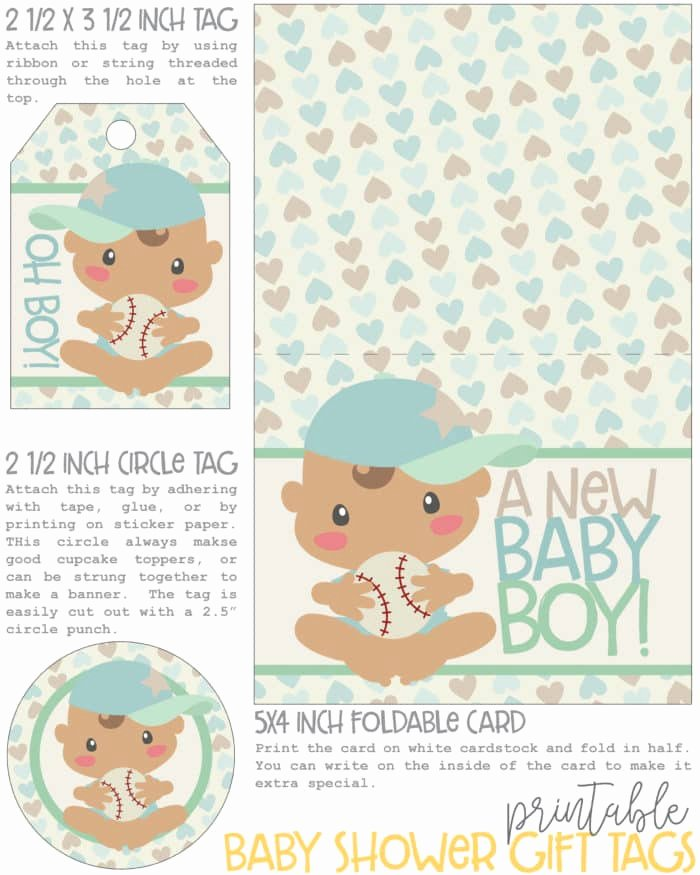 Printable Baby Shower Tags Unique Baby Shower Gift Tags and Card Free Printable Mom Vs