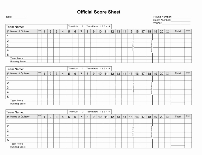 Printable Basketball Score Sheet Awesome 5 Basketball Score Sheet Templates Word Excel Templates