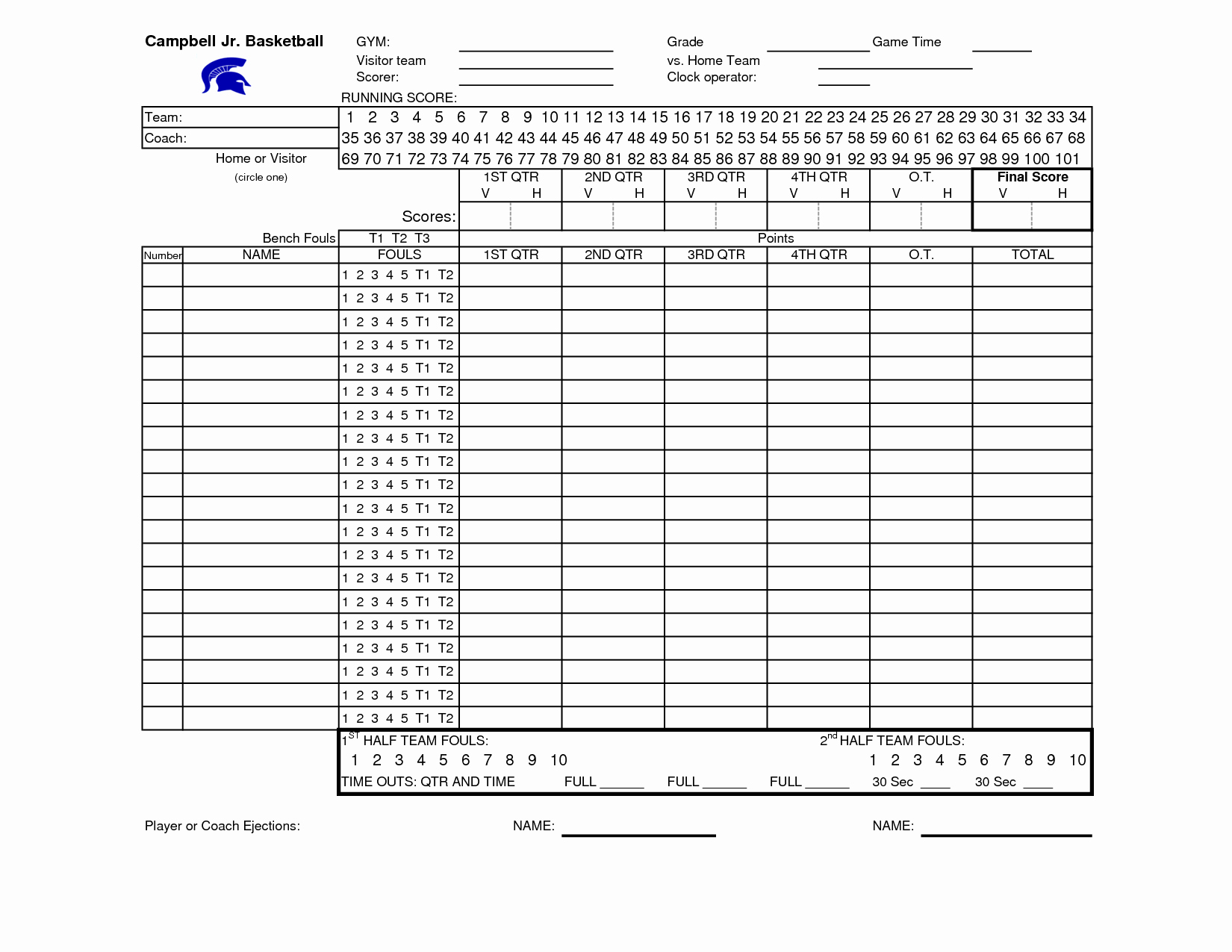 Printable Basketball Score Sheet Beautiful Basketball Stat Sheet Free Download the Best Home