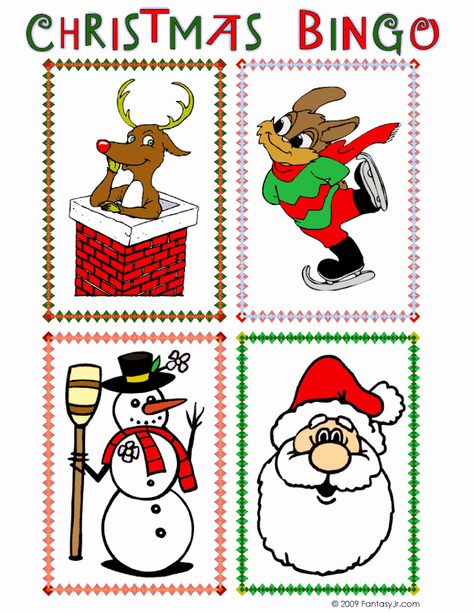 Printable Bingo Calling Cards Elegant Christmas Bingo Calling Card 1
