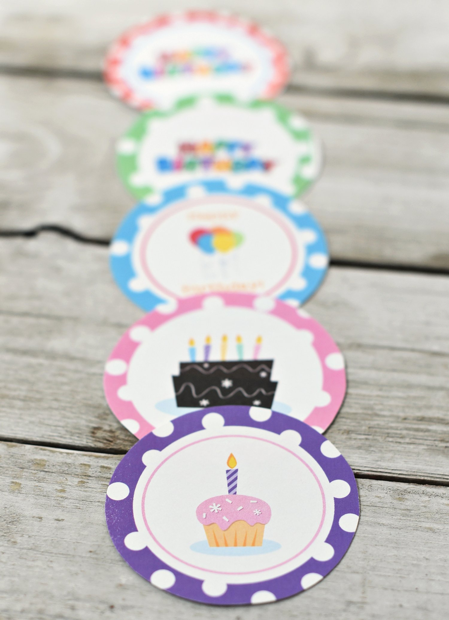 Printable Birthday Gift Tags Awesome Free Printable Birthday Gift Tags – Fun Squared