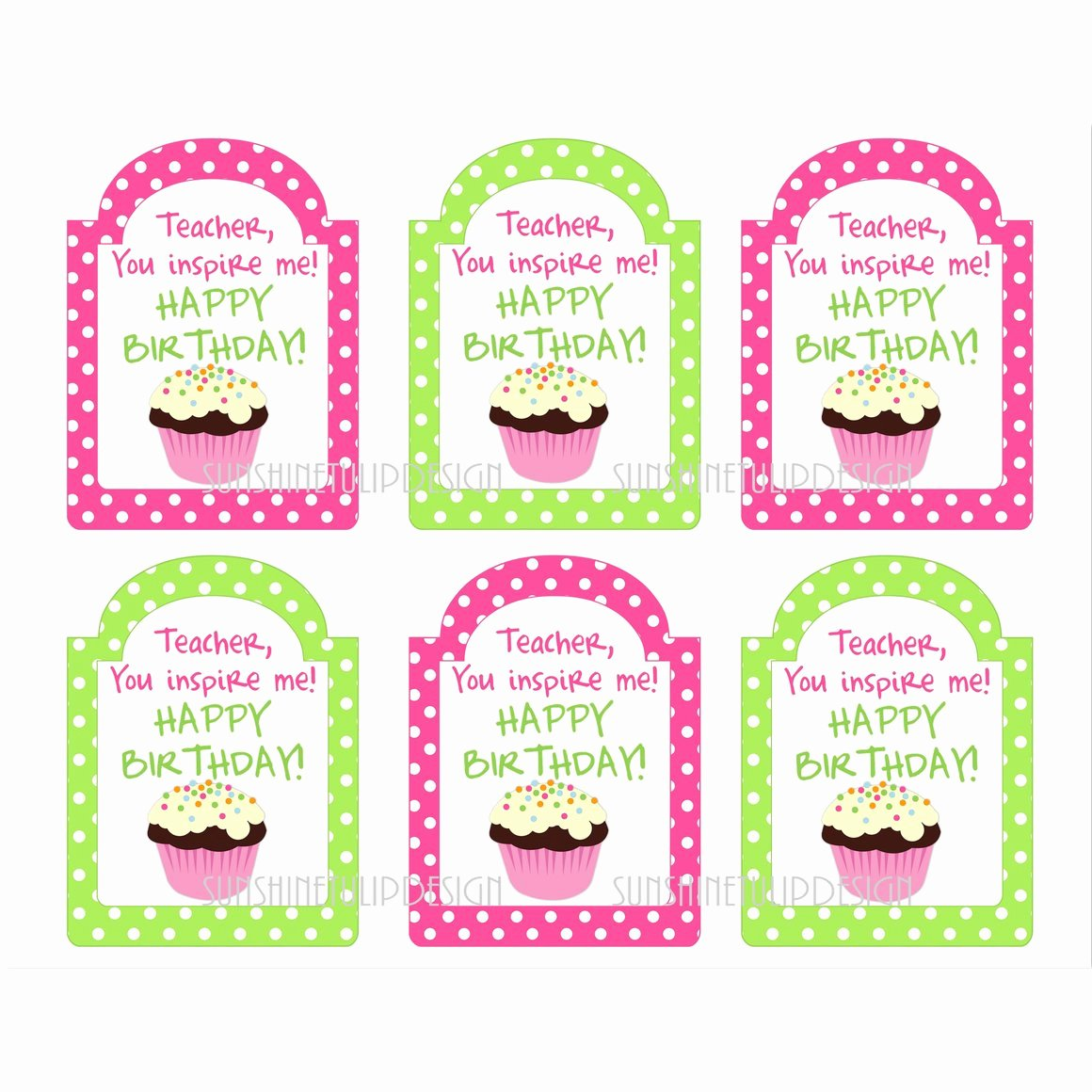 """Printable Birthday Gift Tags Lovely Products Tagged """"teacher Appreciation"""" Page 2"""