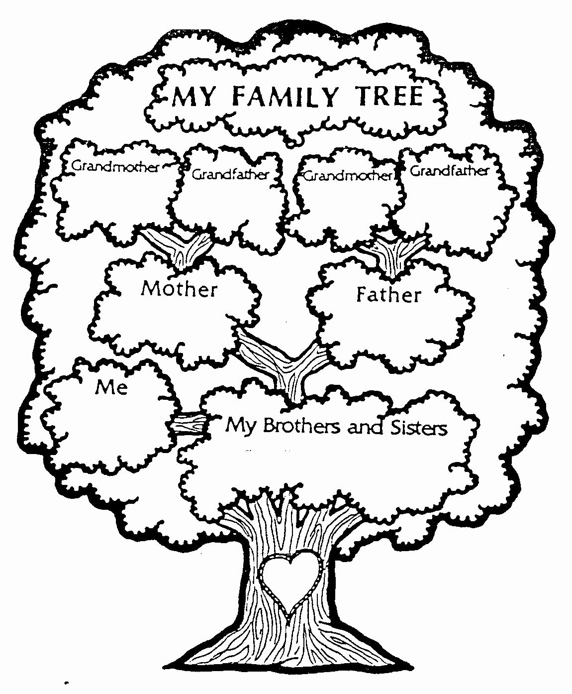 Printable Blank Family Tree Best Of Family Tree Freebies – Gianna the Great
