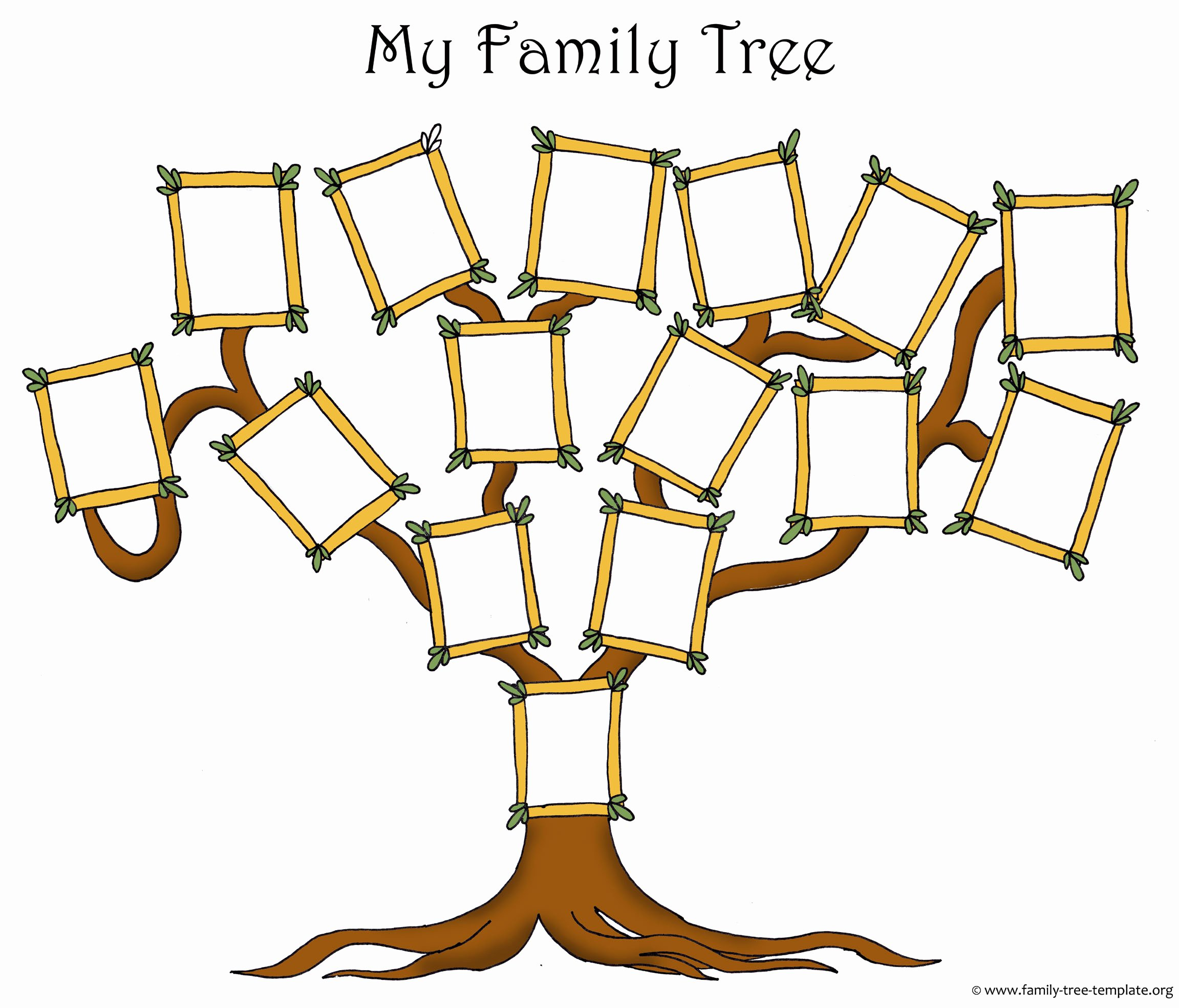 Printable Blank Family Tree New Free Family Tree Template Designs for Making Ancestry Charts