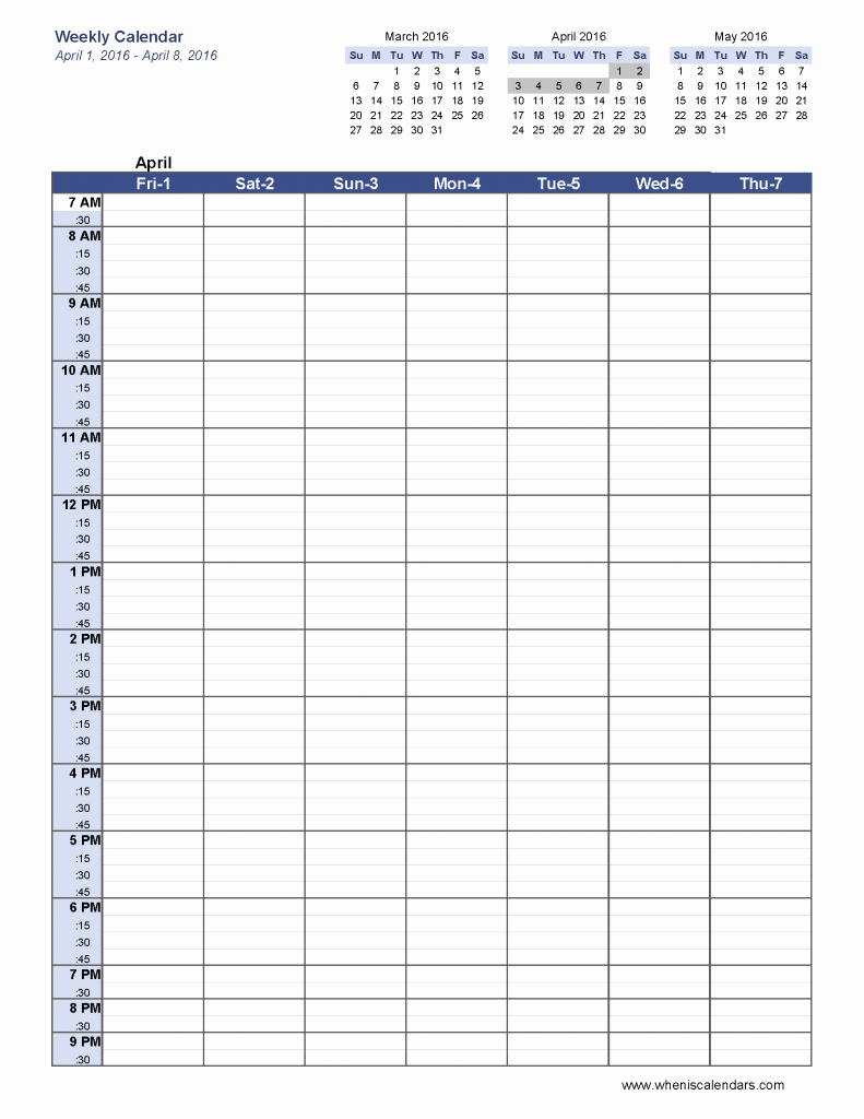 Printable Blank Weekly Calendar Unique 6 Week Blank Schedule Template Weekly Calendar Template
