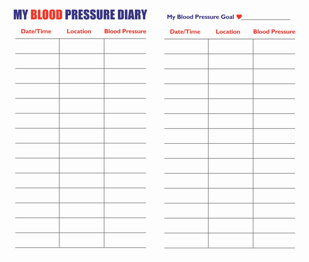 Printable Blood Pressure Range Chart Beautiful Blood Pressure Chart